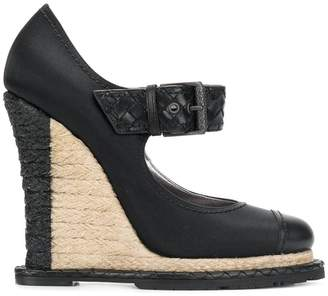 Bottega Veneta wedge heel pumps