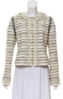 Tory Burch Embellished Lightweight Jacket