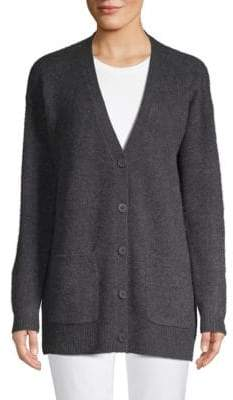 Saks Fifth Avenue Cashmere Button-Front Cardigan