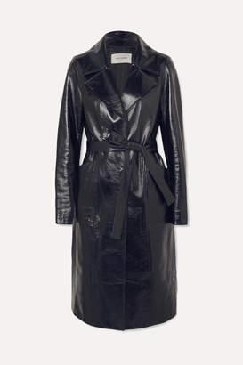 Yves Salomon Patent-leather Coat