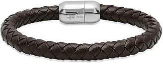 FINE JEWELRY Steeltime Mens Wrap Bracelet
