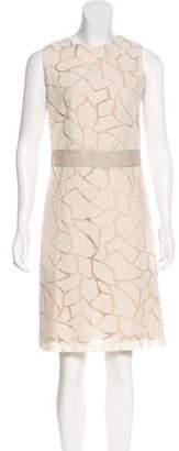 Yigal Azrouel Sleeveless Lace Dress