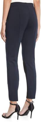 Donna Karan Colorblocked Seamed Leggings
