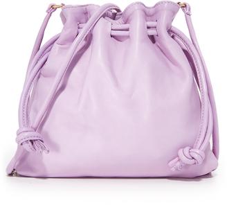Clare V. Petit Henri Drawstring Bag $295 thestylecure.com
