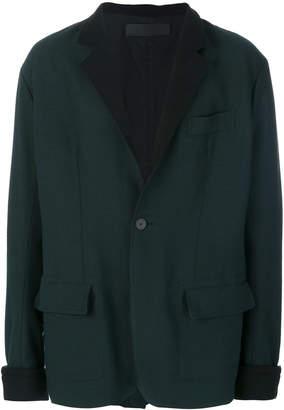 Haider Ackermann contrast blazer