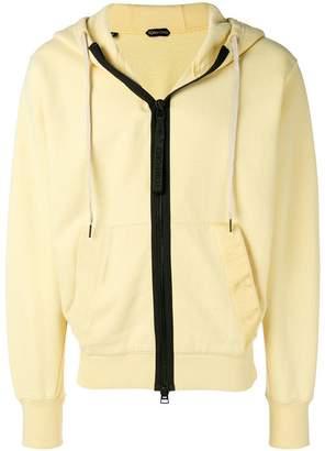 Tom Ford contrast zip jacket