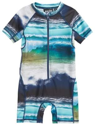Molo Neka One-Piece Rashguard Swimsuit