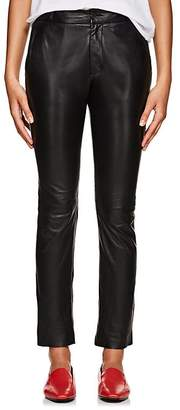 Nili Lotan Women's East Hampton Leather Slim Pants