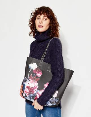 Joules Clothing Revery print Reversible Tote