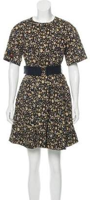 Marc Jacobs Floral A-Line Dress