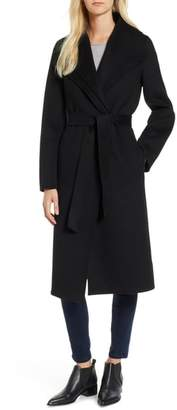 Tahari Elliot Long Wrap Coat