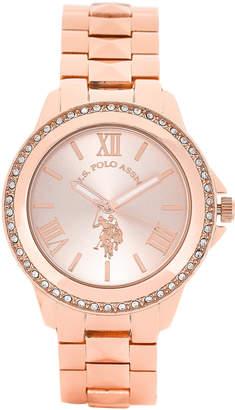 U.S. Polo Assn. USC40078AZ Rose Gold-Tone Watch