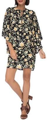 Bobeau B Collection by Morna Butterfly-Sleeve Dress