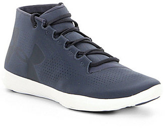 Under Armour Women's Street Precision Mid Sneakers $89.99 thestylecure.com