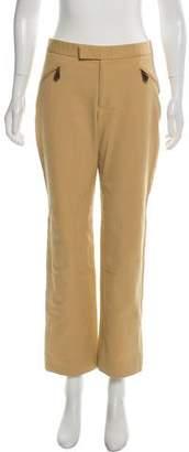 Ralph Lauren Black Label Mid-Rise Straight-Leg Pants