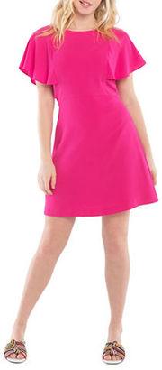 Kensie Crepe A-Line Dress $89 thestylecure.com