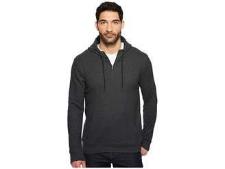 Threads 4 Thought Breton 3/4 Zip Hoodie Men's Sweatshirt
