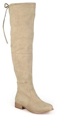 Journee Collection Women's Round Toe Over the Knee Boots