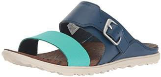 Merrell Women's Around Town Buckle Slide Print Sandal