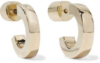 Jennifer Fisher Small Huggie Gold-plated Hoop Earrings