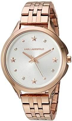 Karl Lagerfeld Women's Karoline Quartz Stainless Steel Casual Watch