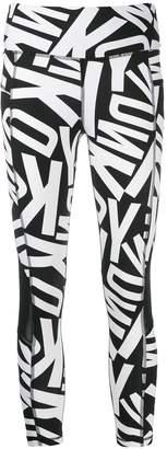 DKNY printed leggings