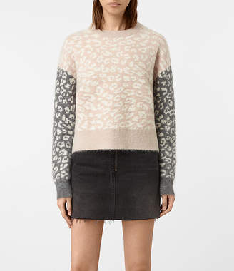 AllSaints Leya Crew Neck Sweater