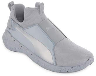 Puma Rebel Mid Womens Training Shoes Pull-on