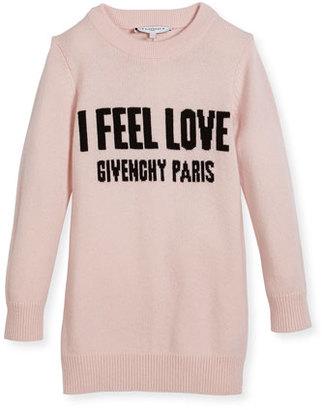 Givenchy I Feel Love Knit Dress, Size 4-5 $510 thestylecure.com