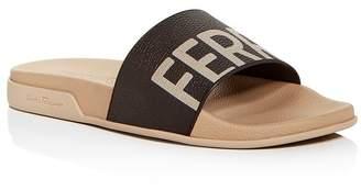 Salvatore Ferragamo Men's Amos Slide Sandals