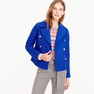 Cropped double-breasted peacoat $298 thestylecure.com