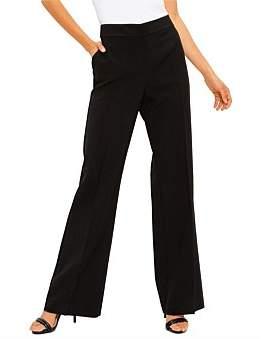 St. John Bella Double Weave Pants W/ Crease & Pockets
