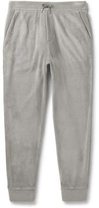 Ralph Lauren Purple Label Slim-Fit Tapered Fleece Sweatpants