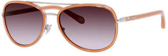 Fossil Two Tone Aviator Sunglasses