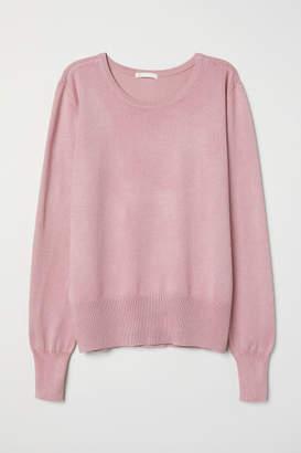 H&M Fine-knit jumper - Pink