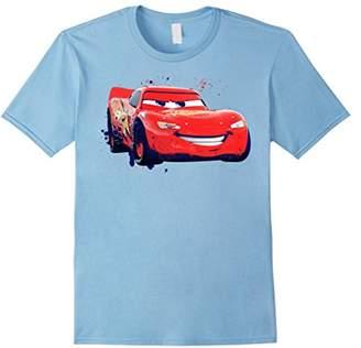 Disney Pixar Cars Lightning McQueen Paint Drifting T-Shirt