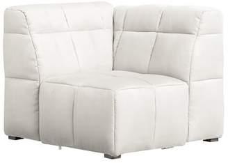 Pottery Barn Teen Baldwin Lounge Corner Chair, Tweed Ivory, IDS