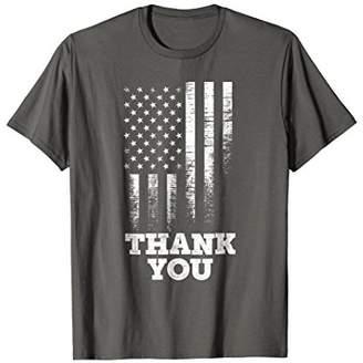 DAY Birger et Mikkelsen American Flag Veteran's Thank You Shirt