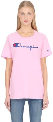Champion Cotton Jersey T-Shirt $48 thestylecure.com