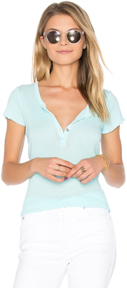 Chaser Vintage Rib Henley $51 thestylecure.com