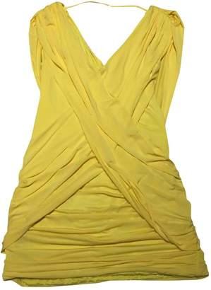 BCBGMAXAZRIA Yellow Dress for Women