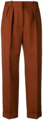 Victoria Beckham high waisted pleat trousers