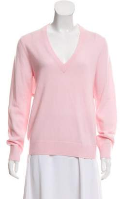 Michael Kors Long Sleeve Cashmere Sweater Pink Long Sleeve Cashmere Sweater