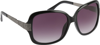 Women's RocaWear R3197 Textured Rectangle Sunglasses $39.95 thestylecure.com