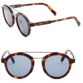 Salvatore Ferragamo 49MM Square Sunglasses