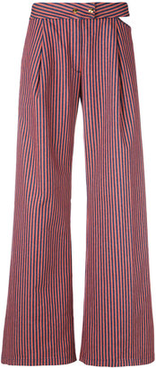 Cycle flared striped trousers $158.32 thestylecure.com