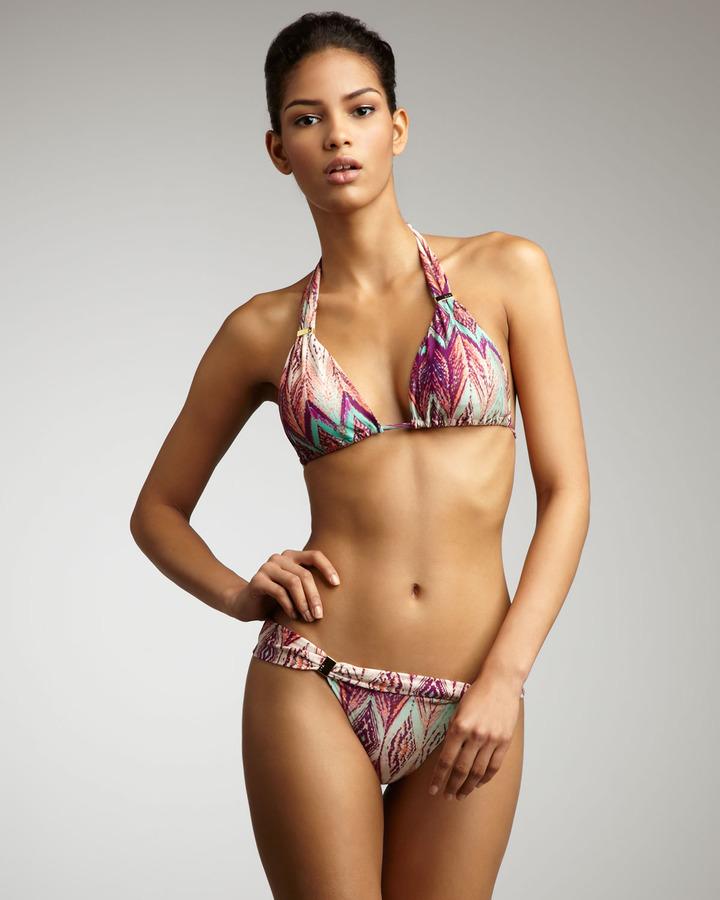 Vix Swimwear Vix Ubud Ikat Tube Bikini Bottoms