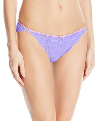Maidenform Women's Sexy Must Haves All-Over Lace Tanga $6.68 thestylecure.com