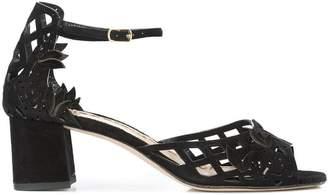 Marchesa Holly laser cut sandals