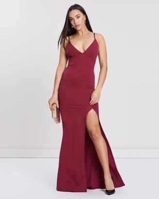Missguided Scuba Maxi Dress